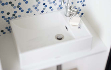 Panasonicの洗面台リフォーム、水回り交換 アクアフィニチャー