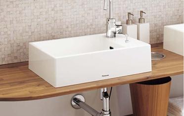 Panasonicの洗面化粧台交換、水回りリフォーム アクアフィニチャー リノベーション