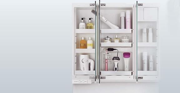 Panasonicの洗面化粧台交換、水回り交換 シーライン