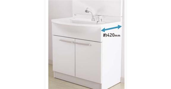 Panasonicの洗面台、エムライン 洗面台リフォーム、リノベーション