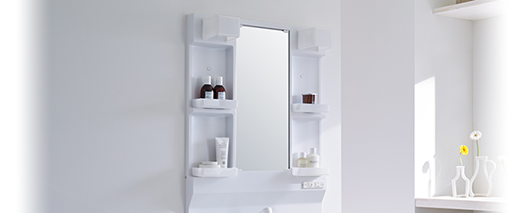 クリナップの洗面化粧台交換、水回り交換 bga_imgシリーズ