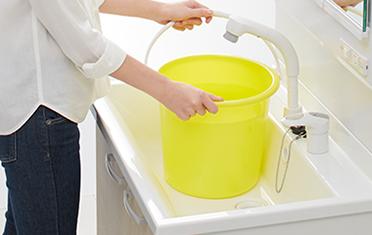 クリナップの洗面化粧台、水回り交換 bga_imgシリーズ