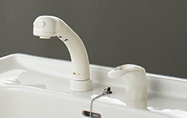 クリナップの洗面台リフォーム、水回り交換 btsシリーズ