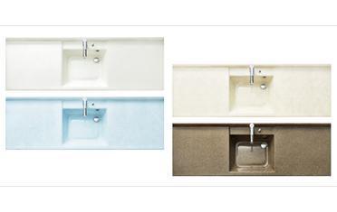 クリナップの洗面化粧台交換、水回りリフォーム ティアリス リノベーション