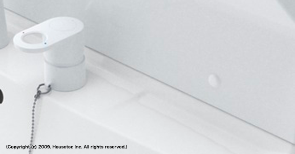ハウステックの洗面台、QV 洗面台リフォーム、リノベーション
