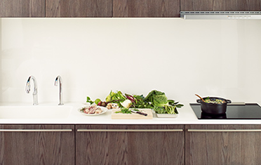 リクシルのキッチンリフォーム、リシェルPLAT リノベーション