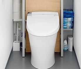 リクシルのトイレ、リフォレ便器交換 水回り交換
