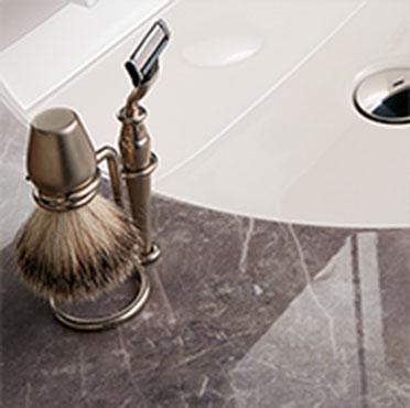 リクシルの洗面化粧台交換、水回りリフォーム ルミシス/ボウル一体タイプ リノベーション