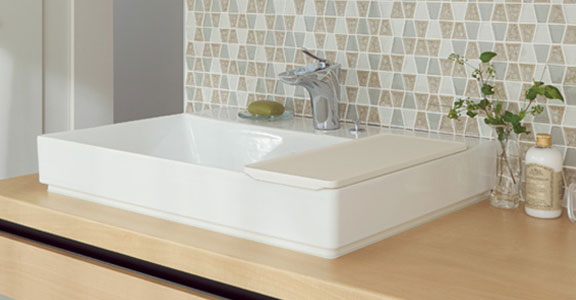 リクシルの洗面台、ルミシス/ベッセルタイプ 洗面台リフォーム、リノベーション