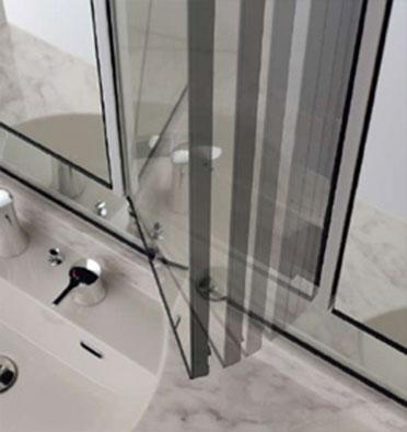 リクシルの洗面化粧台、水回り交換 ルミシス/ベッセルタイプ