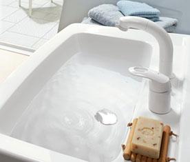 リクシルのリフォーム、洗面台交換 水回り交換、オフト