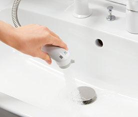 リクシルの洗面台、オフト 水回り交換