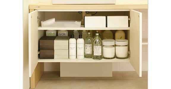 ノーリツの洗面台、ソフィニアクリエクリエ 洗面台リフォーム、リノベーション