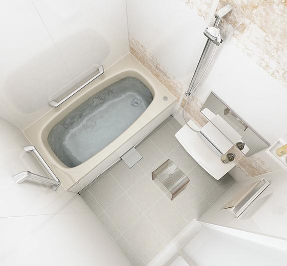 タカラスタンダードのお風呂、伸びの美浴室 水回り交換、水回りリフォーム