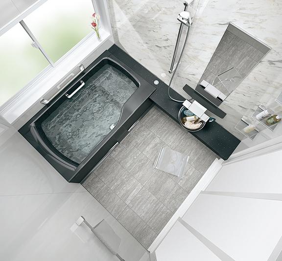 タカラスタンダードのお風呂、鋳物ホーロー浴槽 プレデンシア 水回り交換