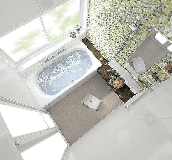 タカラスタンダードのお風呂、鋳物ホーロー浴槽 プレデンシア 水回り交換、水回りリフォーム