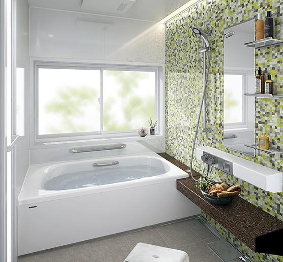 タカラスタンダードのお風呂、鋳物ホーロー浴槽 プレデンシア リノベーション、リフォーム