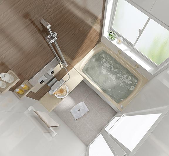 タカラスタンダードのお風呂、キープクリーン浴槽 レラージュ 水回り交換、水回りリフォーム