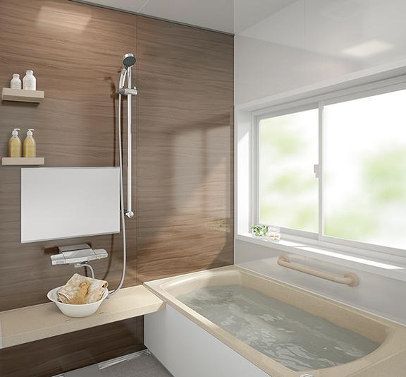 タカラスタンダードのお風呂、キープクリーン浴槽 レラージュ リノベーション、リフォーム