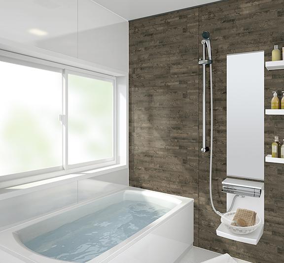 タカラスタンダードのお風呂、キープクリーン浴槽 レラージュライトライト 水回り交換