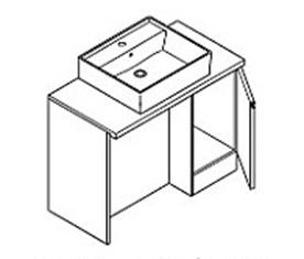 トクラスの洗面台、レスト水回り交換 水回り交換