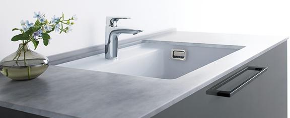 TOTOの洗面台、エスクア 洗面台リフォーム、リノベーション