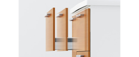 TOTOの洗面台、サクア 洗面台リフォーム、リノベーション