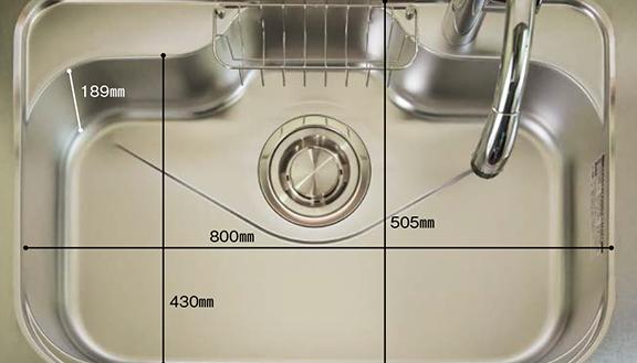 ウッドワンのキッチン SAのリフォーム 水回り交換