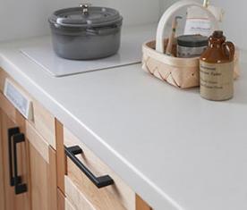 ウッドワンのキッチン、ちっちゃいスイージー リノベーション、キッチンリフォーム
