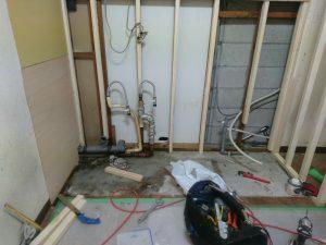 キッチン交換工事施工