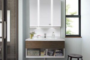 洗面化粧台リフォーム 洗面脱衣室のリフォームは足立区で工務店