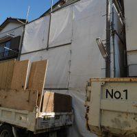 足立区 戸建て解体工事