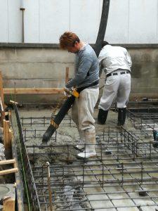 ベタ基礎打設 新築工事からはじまる暮らし