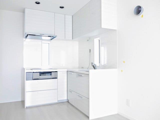 キッチン新築工事 オール電化住宅 屋上のある家 長期優良住宅 防音・遮音性住宅