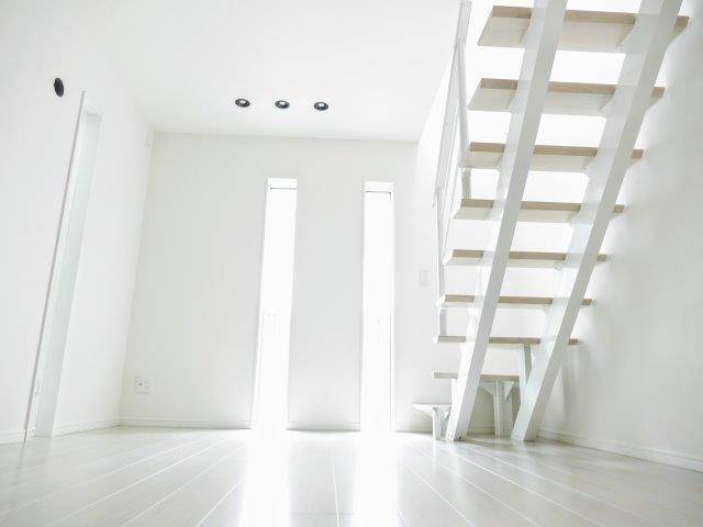 デザイン階段 家族の安心・安全を守る防犯の家